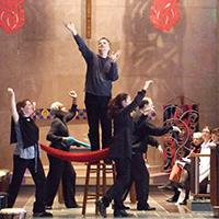 Drama class in Chapel